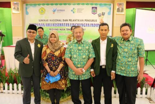 HAKLI Provinsi NTB dan Pengembangan SDM Kesehatan Lingkungan